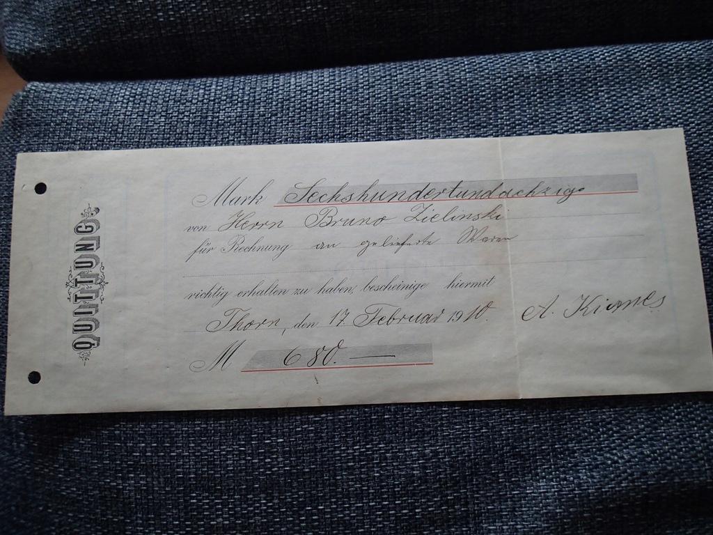 Toruń 1910 r