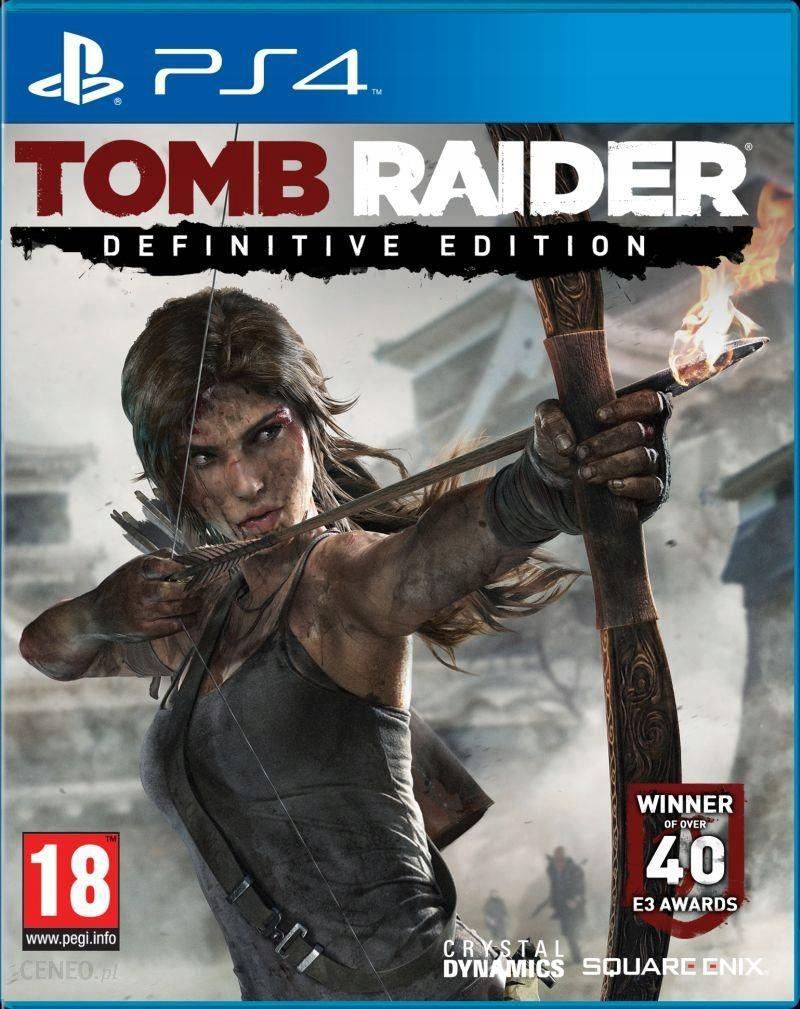 PS4 TOMB RAIDER DEFINITIVE EDITION / PL / NOWA