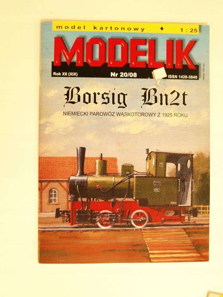 Modelik 20/08 BORSIG Bn2t