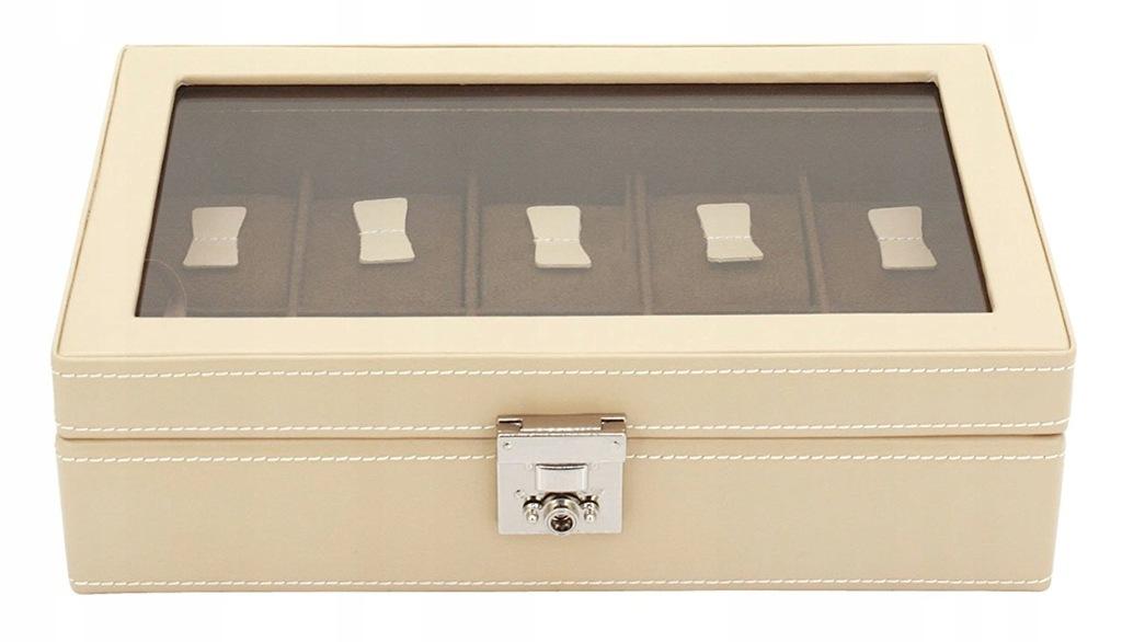 Szkatułka FRIEDRICH23 26215-8 10 zegarków skórzana