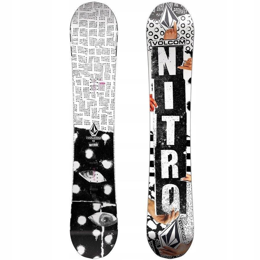 Snowboard NITRO Beast x VOLCOM z 2870PLN 155