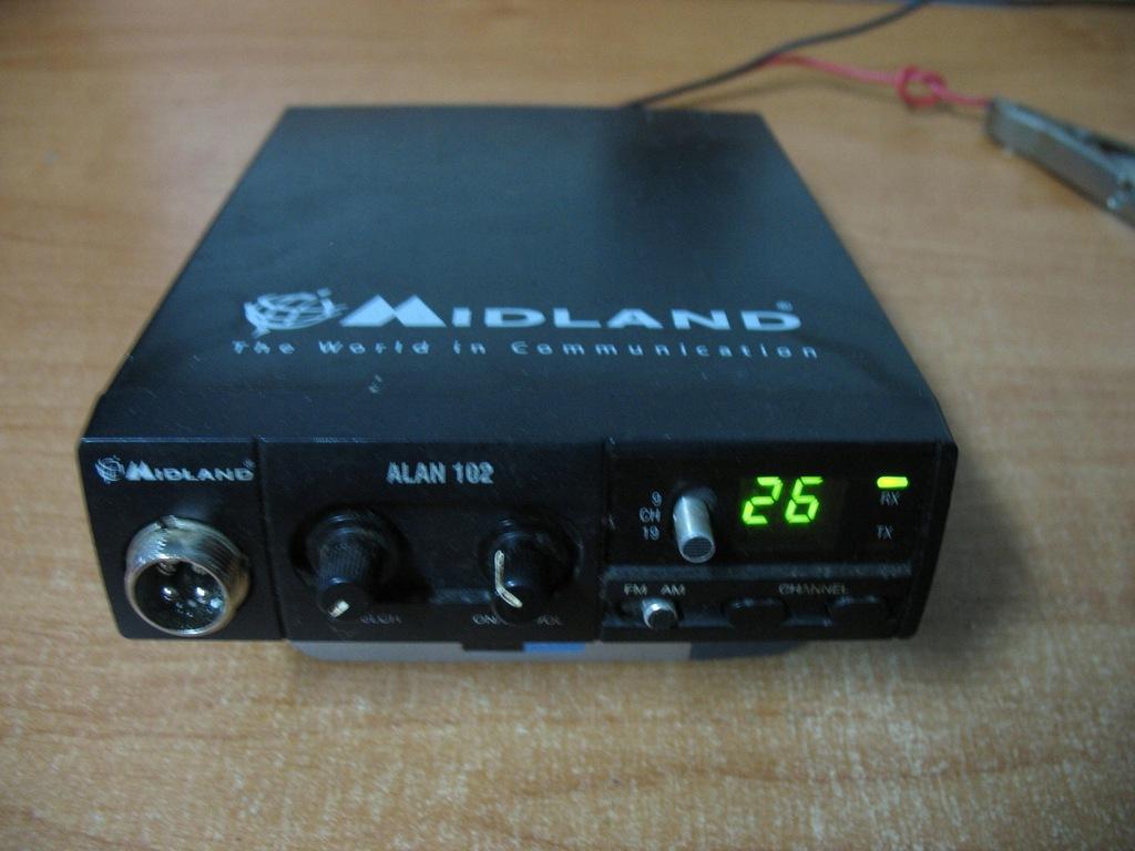CB Radio Alan Midland 102