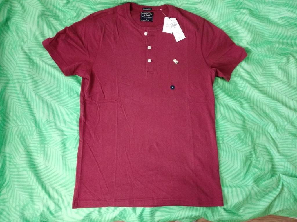 Nowa koszulka abercrombie&fitch Hollister L