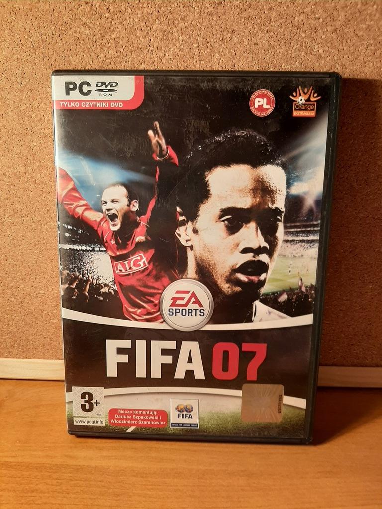 FIFA 07 PC PL retro unikat klasyk
