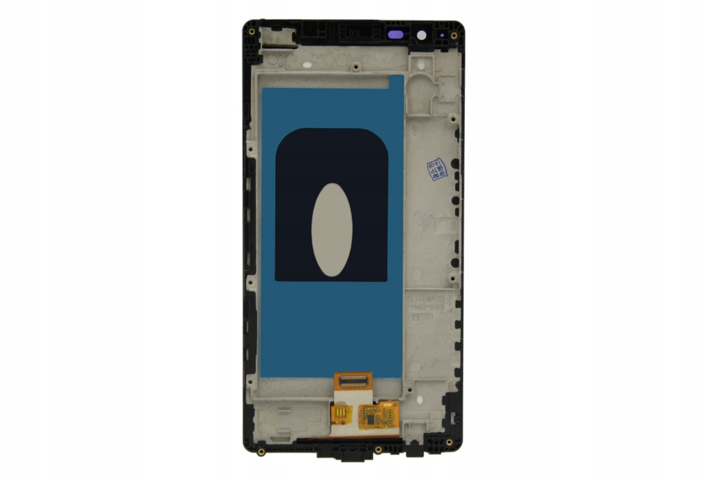 X LG POWER K220 WYŚWIETLACZ LCD +RAMKA CZARNY K210