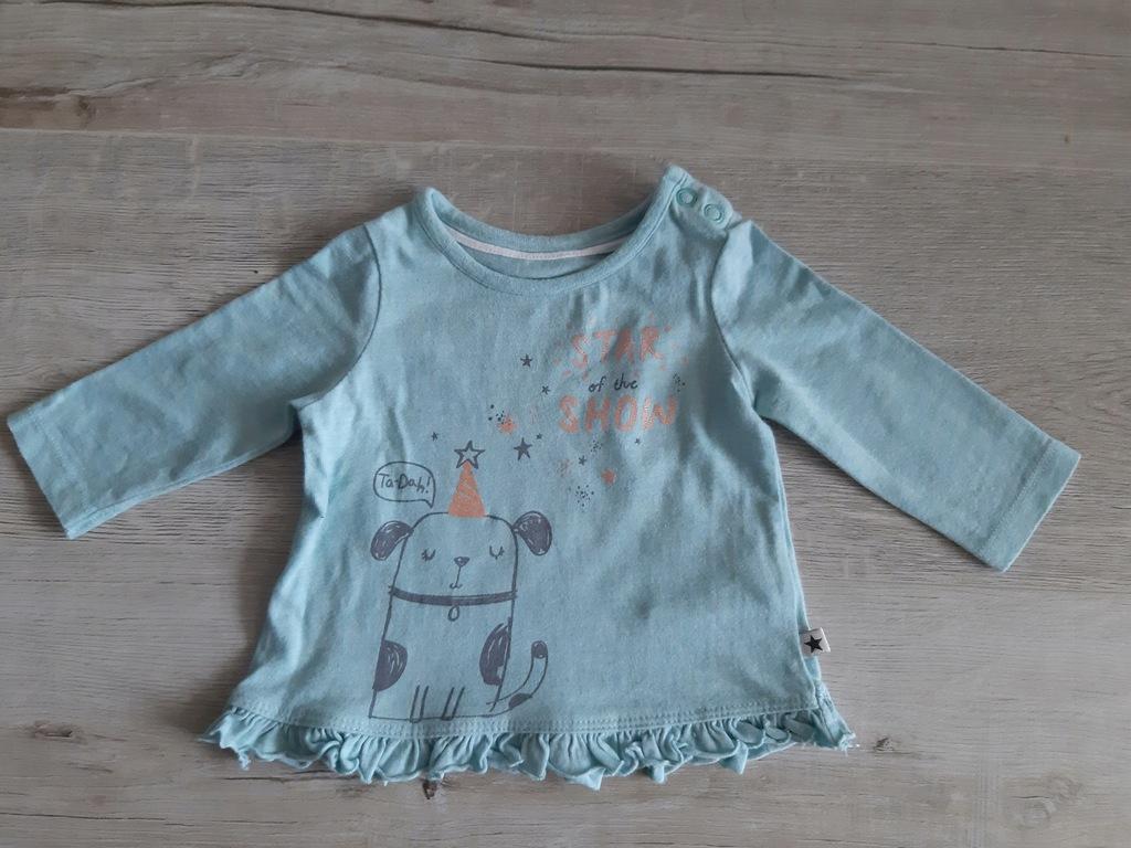 Bluzeczka F&F - Rozm. 62, WIEK 2-4 m-ce
