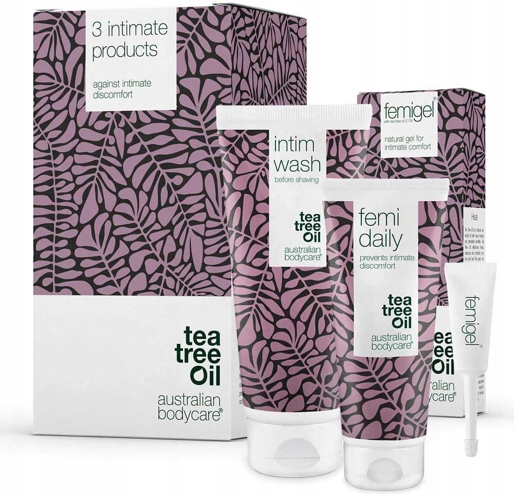 TEA TREE OIL zestaw do golenia intymnego