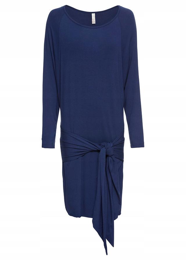 U57 BPC Sukienka z wiązanym paskiem r.44/46