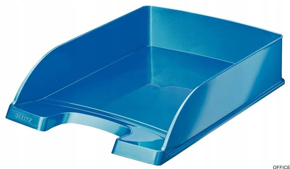 Półka na dokumenty LEITZ Plus niebieska WOW 522630