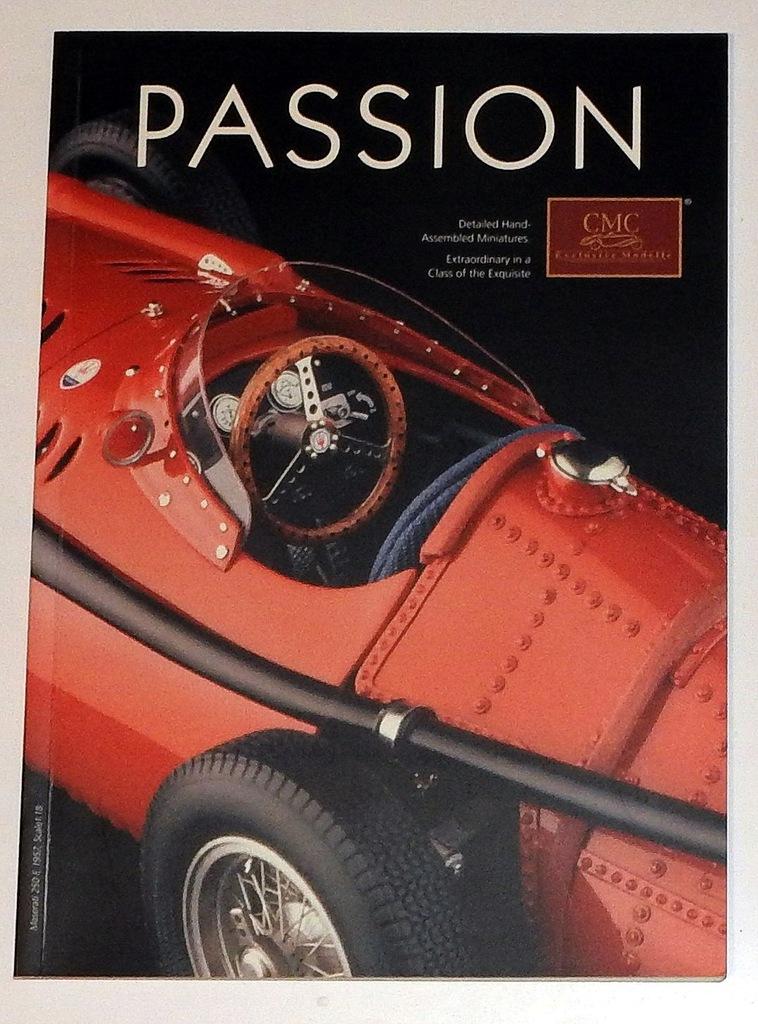 CMC 2007 katalog modeli samochodów 1:12 1:18 1:24