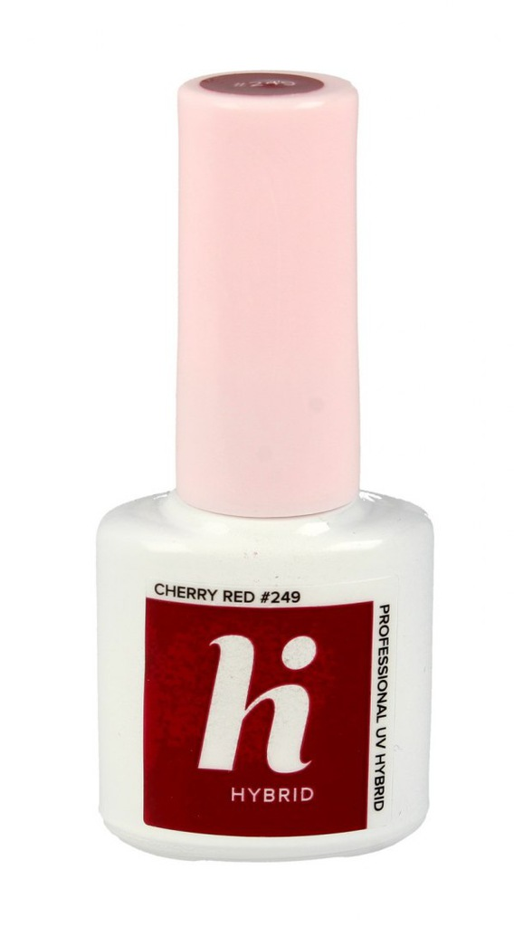 Hi Hybrid Lakier hybrydowy #249 Cherry Red 5ml