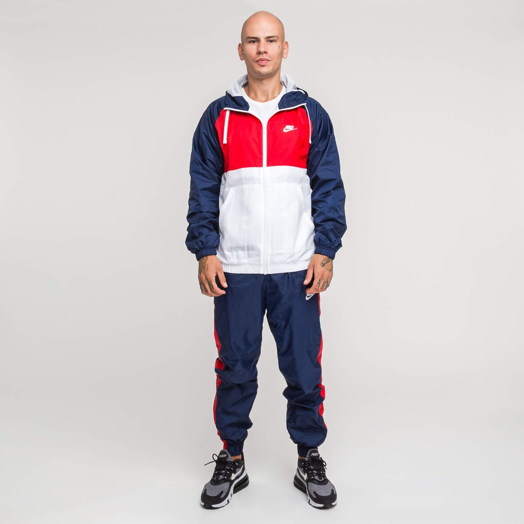 Nike NSW Hooded Woven Tracksuit BV3025-410 XXL