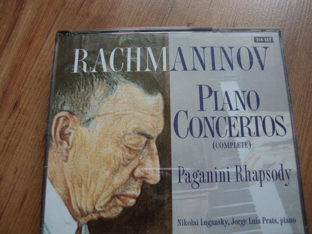 SERGEY RACHMANINOV 2 CD