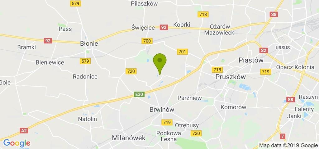 Działka Brwinów, pruszkowski, 125506,00 m²