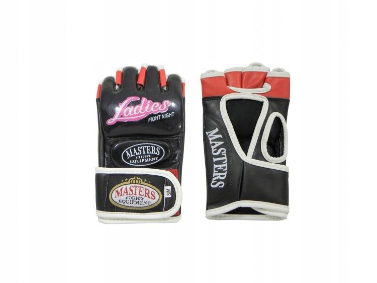 Rękawice DAMSKIE MASTERS do MMA LADIES r. S/M