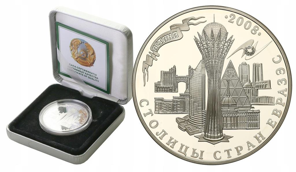 Kazachstan 500 Tenge 2008 EURASEC st.1