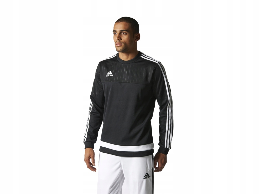 Adidas Tiro15 męska bluza sportowa S22426 CZARNA