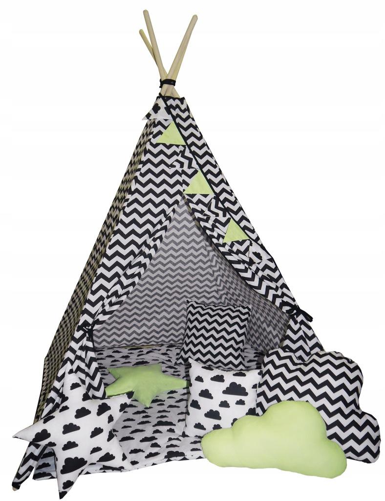 Namiot TEEPEE wirgam domek dla dzieci TIPI MATA 7513924506
