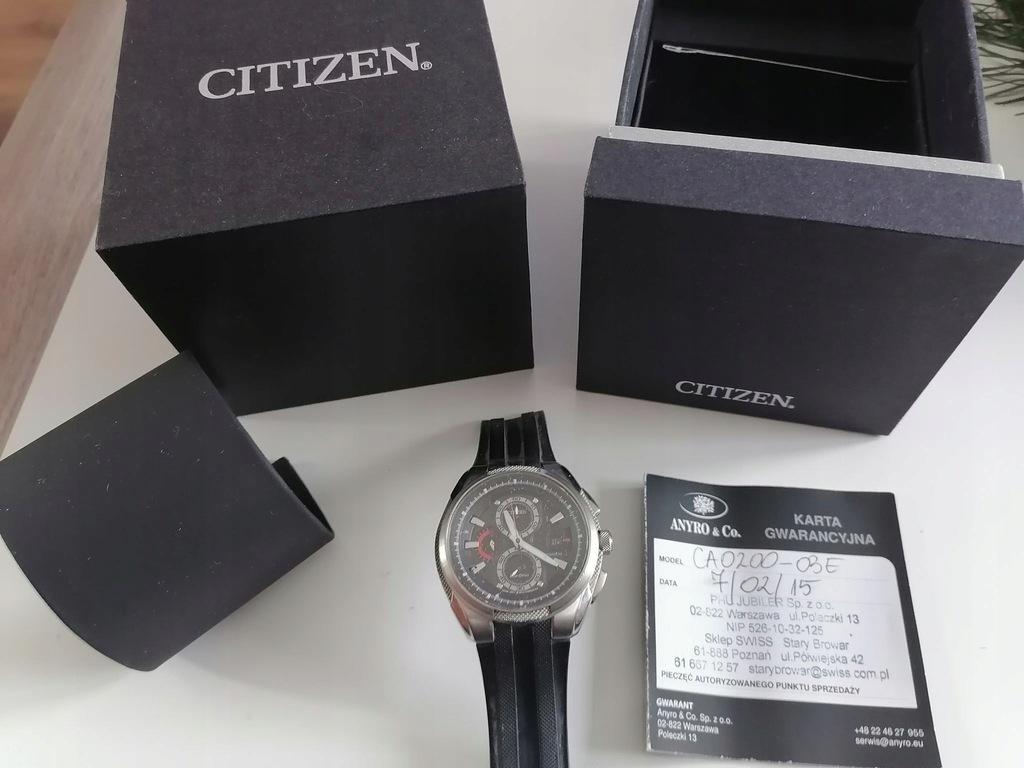 Zegarek CITIZEN CA0200-02E