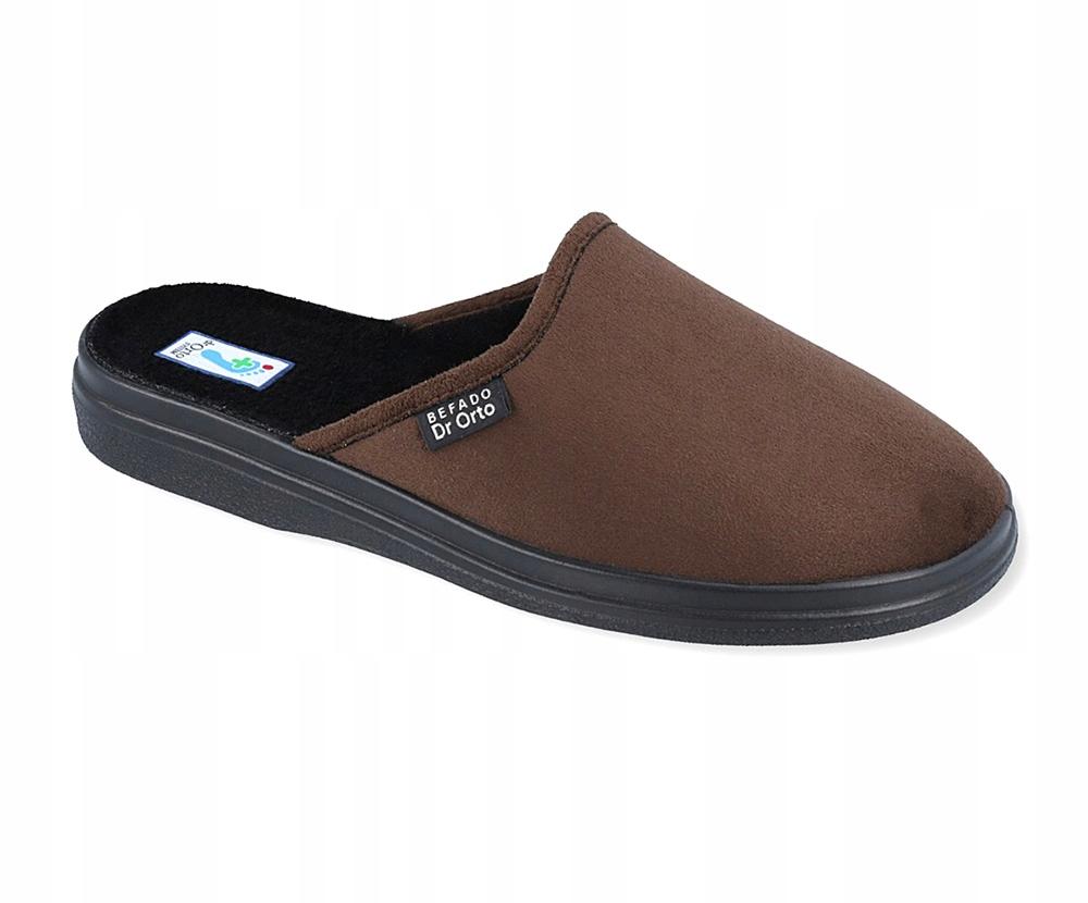 Pantofle kapcie laczki męskie Befado 125/8 R 47