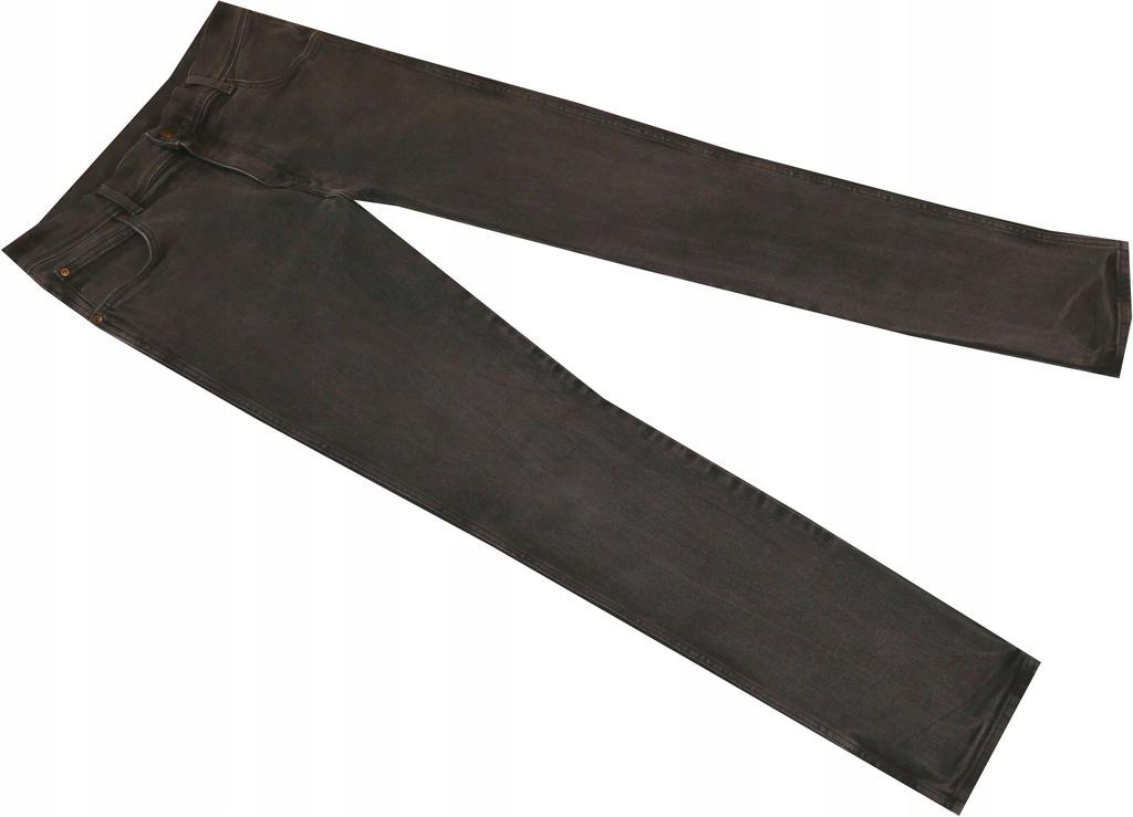 WRANGLER_W34 L34_Spodnie GRUBY jeans 953
