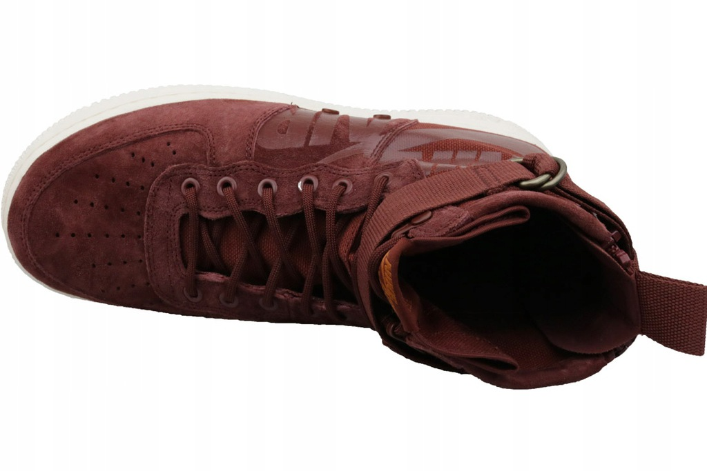 Nike Buty męskie Air Force 1 SF Mid czerwone r. 44.5 (917753 202)