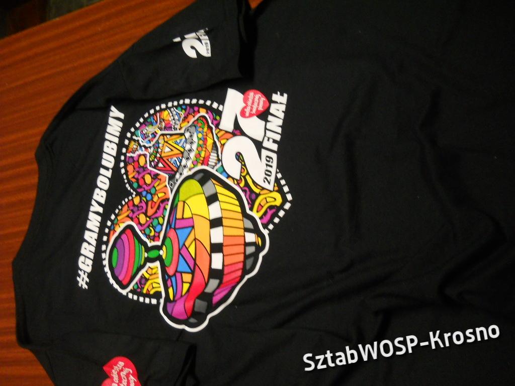 Koszulka damsko-męska T-Shirt 27FinałWOŚP rozm. M