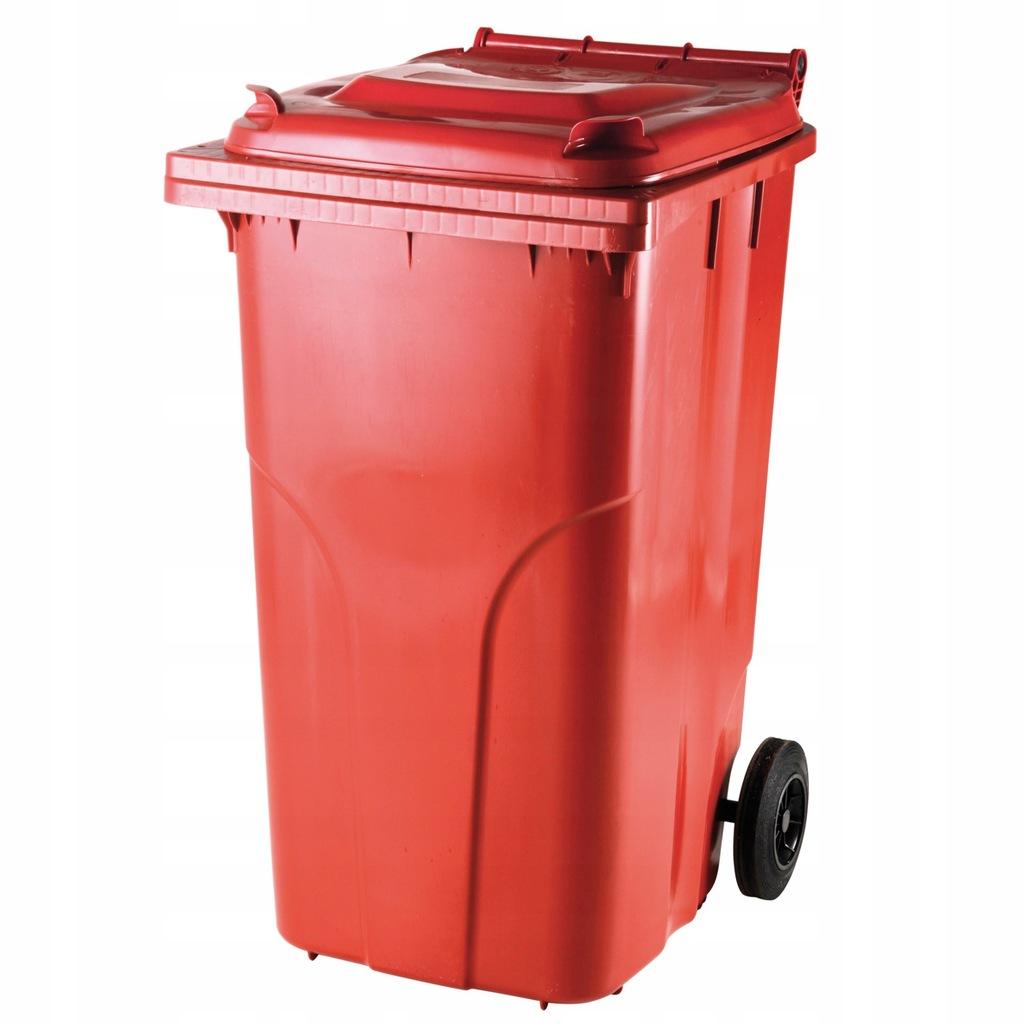 Pojemnik kubeł kosz na odpady śmieci 240L