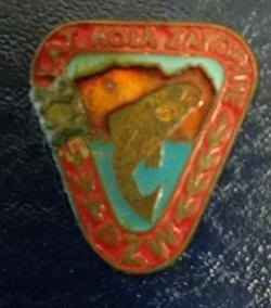 Odznaka wędkarska PZW 20 Zakopane