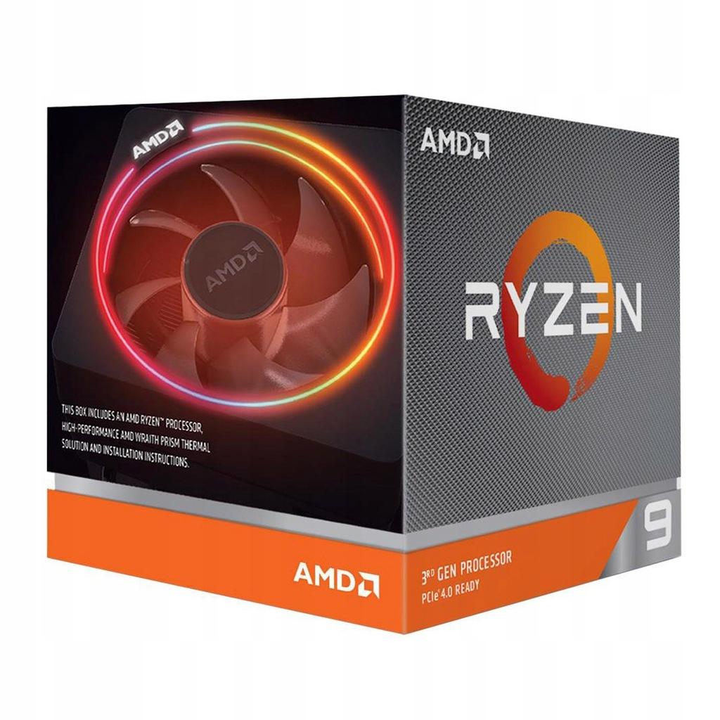 OUTLET AMD Ryzen 9 3900X 3,8GHz BOX Socket AM4