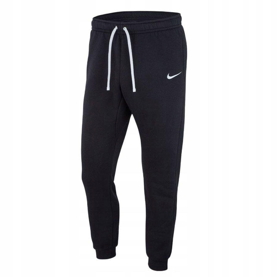 Spodnie Męskie dresowe Nike kieszenie czarn L