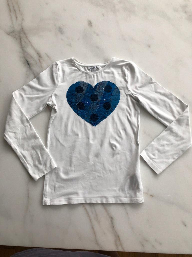 Okaidi T-shirt z ruchomymi cekinami