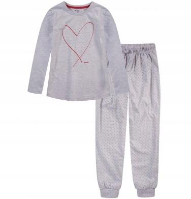 ENDO - piżama z sercem r. 146