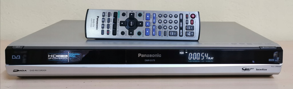 PANASONIC DMR-EX79 #250gb #USB #HDMI #DVB #DivX