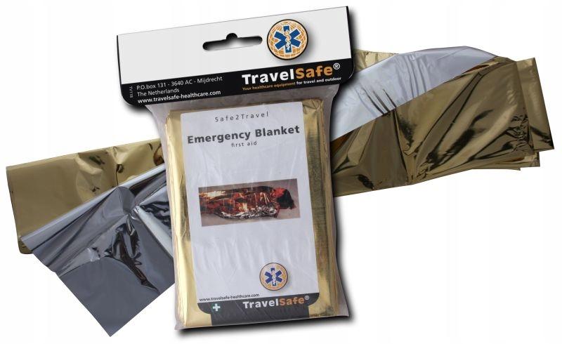 Folia termiczna ratunkowa koc NRC Travel Safe Wawa