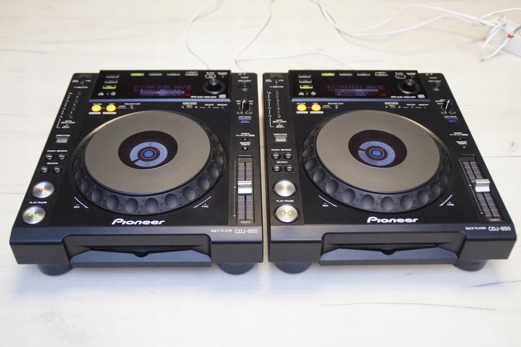 2 X PIONEER CDJ 850 GWARANCJA DJM 800 900 2000