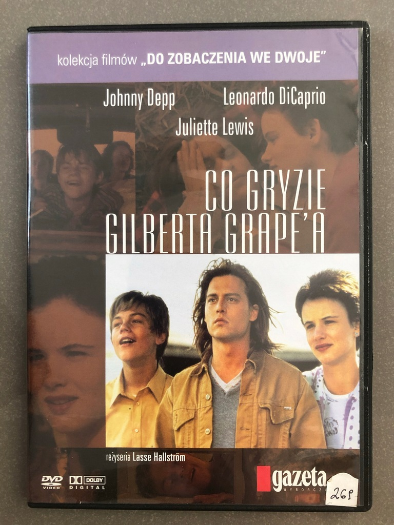 Co gryzie Gilberta Grape'a - DVD lektor napisy PL