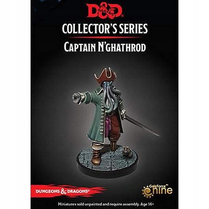 DnD Collector Series: Captain N'ghathrod [ENG]
