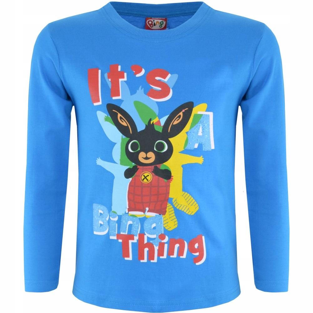 Bluzka Bing Thing niebieska 104