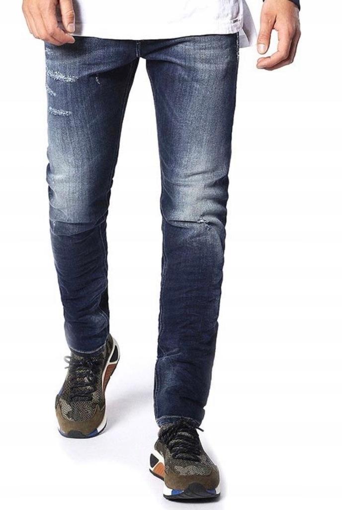 DIESEL TEPPHAR Spodnie jeansy r. 32/32