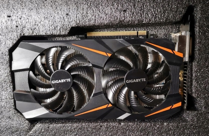 Gigabyte GeForce GTX 1060 3 GB GDDR5
