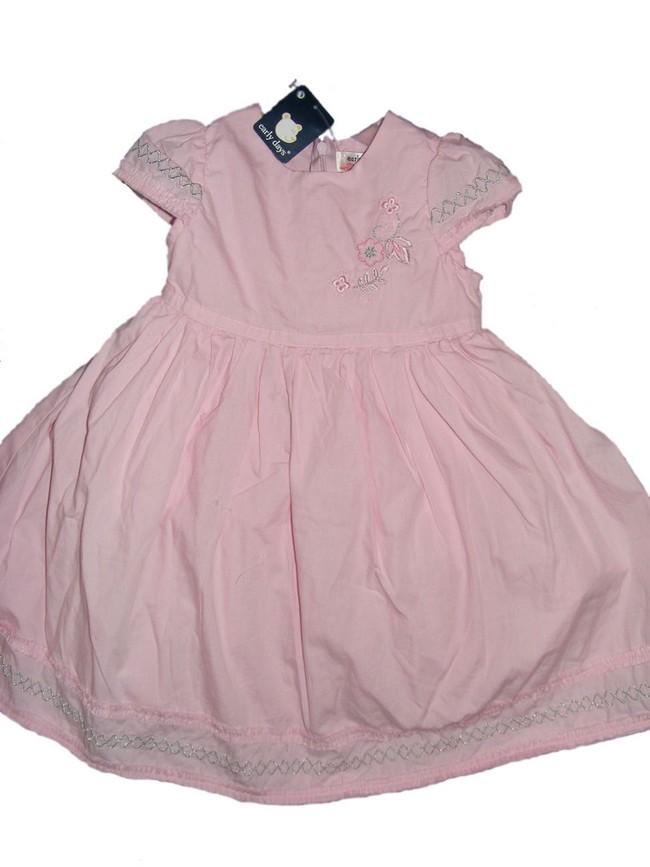 Sukienka na haleczce EARLY DAYS 18-23 mies. różowa