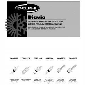 Zestaw naprawczy klimatyzacji DELPHI TSP0695015