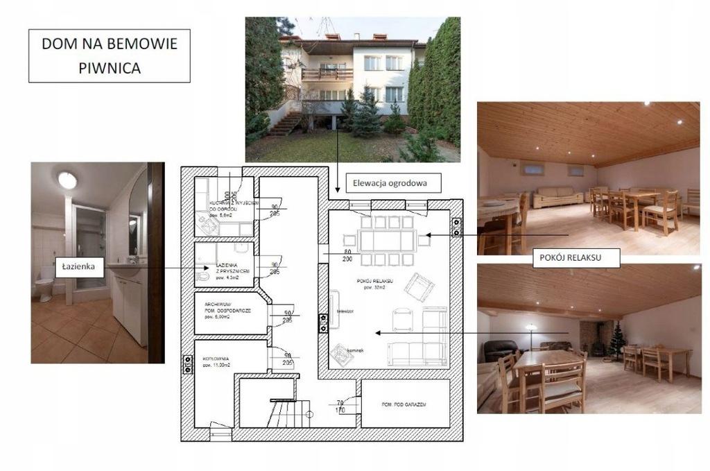 Dom, Warszawa, 400 m²