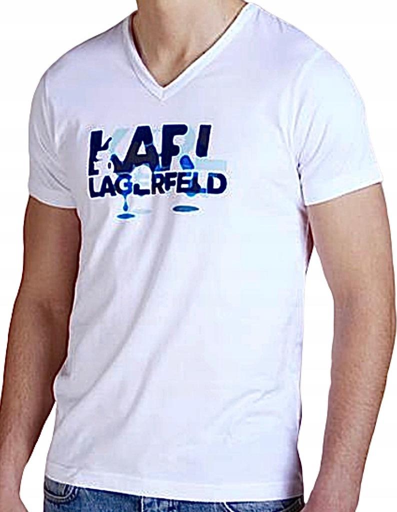 LAGERFELD oryginalny t-shirt r. S/M