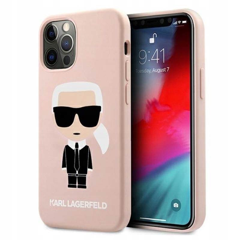 Karl Lagerfeld Fullbody Silicone Iconic - Etui iPh