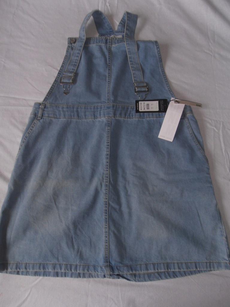 Spódnica ogrodniczka jeansowa r. 44-46