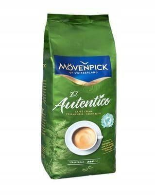 Movenpick El Autentico Caffe Crema 1kg kawa ziarni