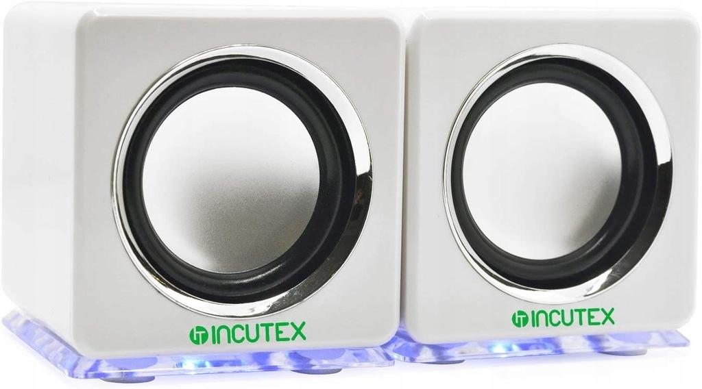 Incutex Przenośne głośniki Audio Rainbow, 3i96