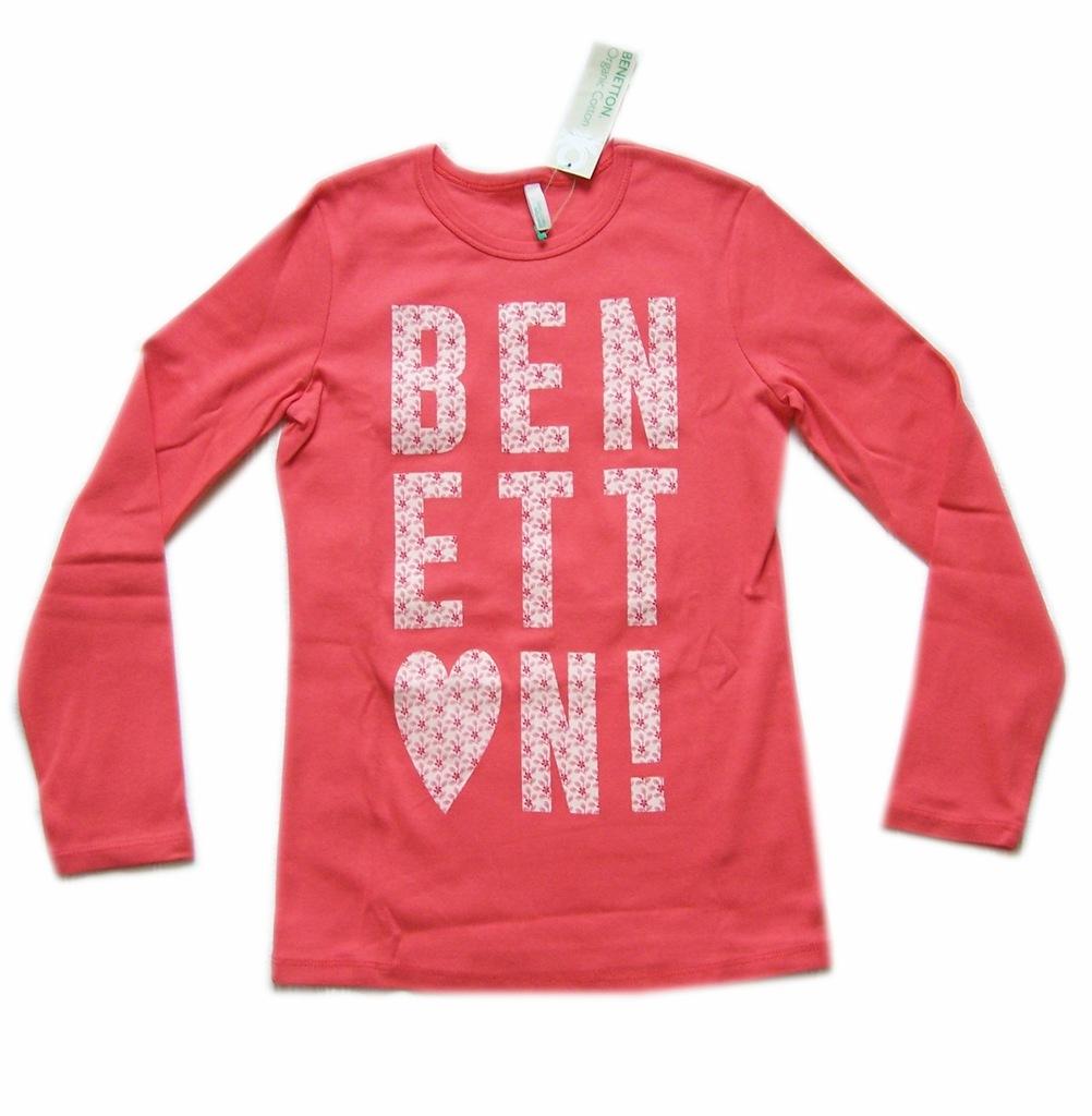 BENETTON t shirt dziewczęcy na 140 cm LA15